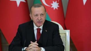 <p>Başkan Recep Tayyip Erdoğan, Brüksel'den sonraki durağı olan Azerbaycan'a geldi. Burada, Ermenist