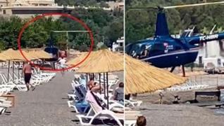 <p>Marmaris Kumlubük Koyu'nda 5 yıldızlı otelin plajına inerek halkın can güvenliğini büyük tehlikey