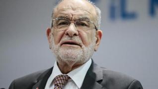 <p>Saadet Partisi Genel Başkanı Temel Karamollaoğlu, Ahmet Davutoğlu, Ali Babacan ve Abdullah Gül üç