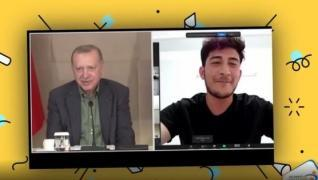 <p>Başkan Recep Tayyip Erdoğan, Babalar Günü dolayısıyla 81 ilden gençlerle buluştu. Çevrim içi olar