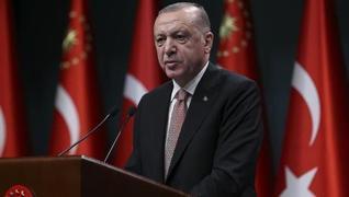 <p>Başkan Recep Tayyip Erdoğan, 'Katar Ekonomi Forumu' etkinliğine video mesajla hitap etti. Koronav