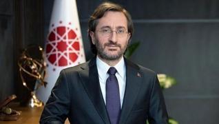<p>Cumhurbaşkanlığı İletişim Başkanı Fahrettin Altun, sosyal iletişim platformlarında, anlık mesajla