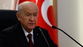 <p>HDP'nin kapatılma davasına ilişkin konuşan MHP Lideri Devlet Bahçeli, 'Anayasa mahkemesi HDP'yi k