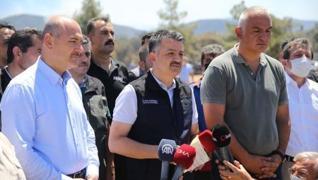 <p>Tarım ve Orman Bakanı Bekir Pakdemirli, 'Son 5 günde 132 yangından 125'ini kontrol atına aldık, 7