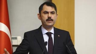 <p>Çevre ve Şehircilik Bakanı Murat Kurum, Türkiye'deki orman yangınlarına ilişkin, 'Bugün bir olma