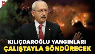 <p>CHP Genel Başkanı Kemal  Kılıçdaroğlu, Türkiye'yi saran orman yangınlarına ilişkin bir basın topl
