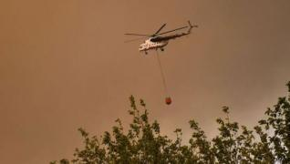 <p>Manavgat'taki yangına müdahale hız kesmeden sürüyor. 24 TV yangınlarda kritik rol oynayan yangın