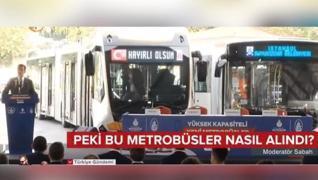 <p>İBB metrobüs hattında kullanılacak  160 otobüs için firmalarla sözleşme imzalandı. Ama akıllar ka
