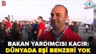 <p>Teknoloji ve Sanayi Bakanı  Yardımcısı Mehmet Fatih Kacır, pandemi sürecinde gerçekleşecek festiv