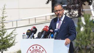 <p>Gençlik ve Spor Bakanı Mehmet Muharrem Kasapoğlu, Ankara'da Fatma Hanım Kız Öğrenci Yurdu'nda Bak