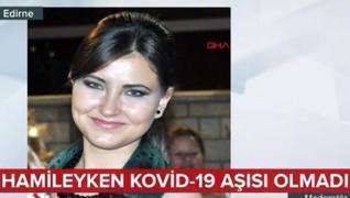 <p>Edirne'de sekiz buçuk aylık hamile Pınar  Pendicak, bebeğine zarar gelebileceği endişesiyle Kovid