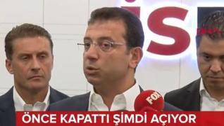 <p>İstanbul Büyükşehir Belediye Başkanı Ekrem İmamoğlu,  halk üniversitesi de denilen İSMEK kursları