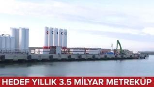 <p>Milli enerji hamlesinde ilk hedef Karadeniz'den 3 buçuk  milyar metreküp doğalgaz çıkartılması. İ