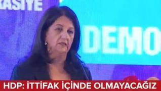 <p>HDP'den Millet İttifakında deprem  yaratacak açıklamalar geldi. Eş Genel Başkan Pervin Buldan Gen
