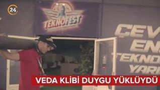 <p>TEKNOFEST Yönetim Kurulu Başkanı Selçuk Bayraktar,  sosyal medya hesabından bir klip paylaştı. TE