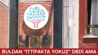<p>HDP Tutum Belgesi'ni açıkladı. Mesele,  ilk anda medyaya HDP Millet İttifakı'nda olmayacağını ila