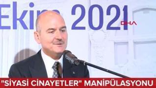 <p class='MsoNormal'>İstanbul Galata Üniversitesi  Akademik Yılı Açılış Töreni'nde konuşan İçişleri
