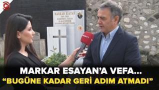 <p>Şişli Ermeni Kabristanındaki anmaya Akşam Gazetesi Genel Yayın Yönetmeni Mustafa Kartoğlu ve Kült