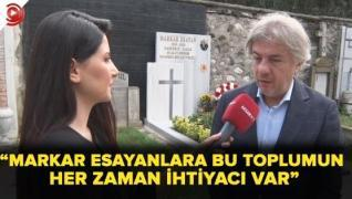 <p>Markar Esayan'ın cesur bir insan olduğunu söyleyen Kültür ve Turizm Bakan Yardımcısı Ahmet Misbah