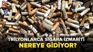 <p><span style='font-size: 1.6rem;'>İnsanlar her yıl 4,5 trilyon sigara  izmaritini doğaya atıyor. B