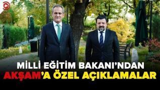 <p>'Telafi kitapları ücretsiz.' Milli Eğitim Bakanı Mahmut Özer'in Akşam gazetesine özel açıklamalar