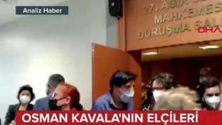 <p>Osman Kavala Davası'nı yakından takip ediyorlar. Hatta yargı üzerinde baskı oluşturmak için duruş