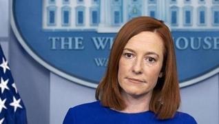 <p><span style='font-size: 1.6rem;'>Beyaz Saray Sözcüsü Psaki, düzenlediği  basın toplantısında, gün