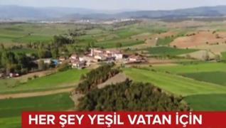 <p>Salgına rağmen yeşil vatan için projeler hız kesmeden sürdü. Türkiye yeşili korumak için 2020'de