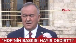 <p>Millet İttifakı'nın tezkeredeki  tutumu Meclis'in gündemindeydi. Mhp Grup Başkan Vekili Erkan Akç
