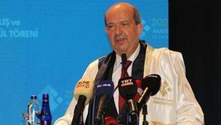 <p>Kuzey Kıbrıs Türk Cumhuriyeti  Cumhurbaşkanı Ersin Tatar, Gaziantep'ten birlik ve beraberlik mesa