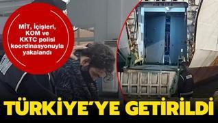 MİT, İçişleri, KOM ve KKTC polisi koordinasyonuyla yakalandı: Türkiye'ye getirildi