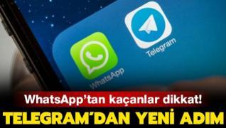 WhatsApp'tan kaçanlar dikkat! Telegram'dan yeni adım
