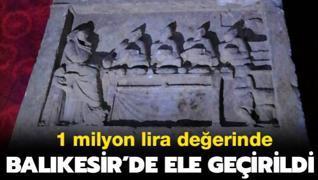 1 milyon lira değerinde... Roma dönemine ait