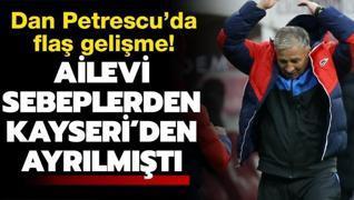 Ailevi nedenlerden Kayseri'den ayrılmıştı: Sürpriz gelişme...
