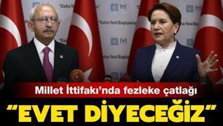 Dokunulmazlık fezlekesi aralarını açtı: İYİ Parti'den peş peşe açıklamalar geldi