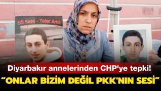 'Onlar bizim değil PKK'nın sesi'