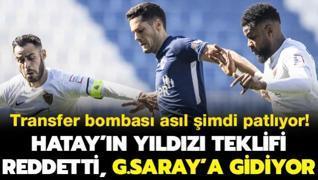 Hatayspor'un yıldızı teklifi reddetti, G.Saray'a gidiyor