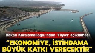 Ulaştırma ve Altyapı Bakanı Karaismailoğlu: 'Ekonomiye, istihdama büyük katkı verecektir'