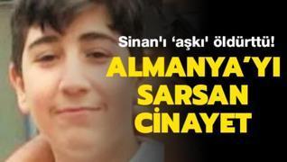Sinan'ı 'aşkı' öldürttü!