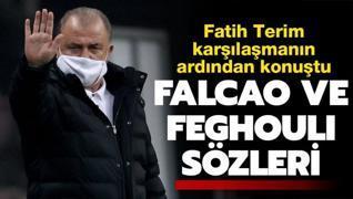 Fatih Terim'den Falcao ve Feghouli sözleri
