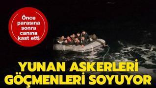 Yunanistan göçmenlerin değerli eşyalarını alıp ölüme itti