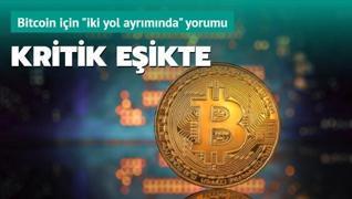 Bitcoin kritik eşikte