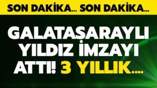Galatasaray mutlu sona ulaştı! 3 yıllık imza...