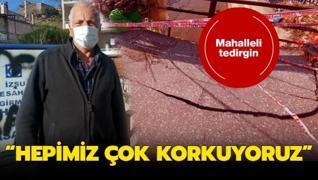 İzmir'de bir mahalle tedirgin! 'Hepimiz çok korkuyoruz'