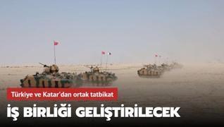 TSK Katar'da tatbikat düzenleyecek
