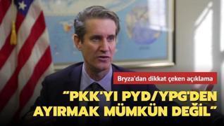ABD'nin emekli Azerbaycan büyükelçisi Bryza'dan dikkat çeken açıklama:  PKK'YI PYD/YPG'DEN ayırmak mümkün değil