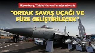 Bloomberg:  Türkiye ile Pakistan ortak savaş uçağı üretecek