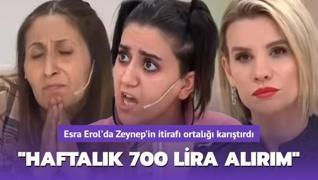 Esra Erol'da Zeynep'ten canlı yayında şoke eden itiraf!