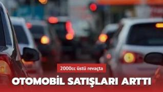 Türkiye'de otomobil satışları arttı