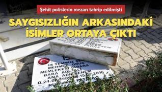 Adana'da şehit polislerin mezarı tahrip edilmişti! Saygısızlığın arkasından DEAŞ çıktı